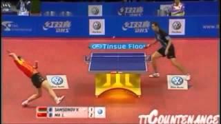 getlinkyoutube.com-【卓球】 - 一撃必殺のスーパーショット集 - Amazing Table Tennis Shots