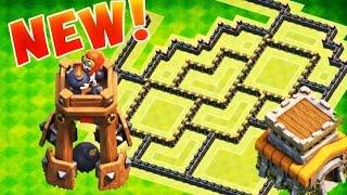 getlinkyoutube.com-اقوى تصميم تاون هول لفل 8 & دفاع برج القنبله الجديد !!!!
