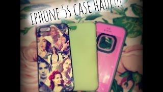 getlinkyoutube.com-iPhone 5s case haul!! | Makeupbylizzie360