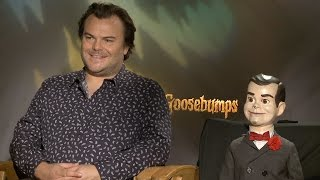 getlinkyoutube.com-'Goosebumps': Jack Black & Slappy on Making a Scary Film for a New Generation