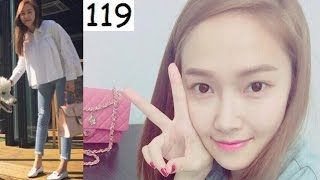 getlinkyoutube.com-Once SNSD . Jessica Jung . 150911 . 150912 . New Seoul office . Lunch with sis Krystal and friends