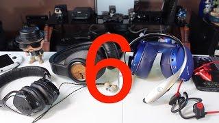 getlinkyoutube.com-My Top Six 6 Favorite Headphones