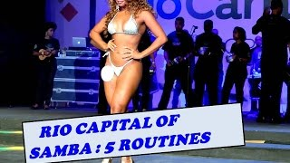 getlinkyoutube.com-RIO CAPITAL OF SAMBA: FIVE SAMBA STARS DANCING ON STAGE IN LIVE CONTEST RIO DE JANEIRO