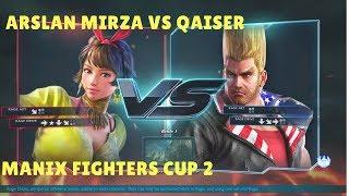 Tekken 7 Arslan Mirza(Josie) vs Qaiser(Paul) ManiaX Fighters cup s2