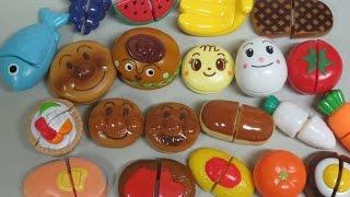 getlinkyoutube.com-anpanman kitchen toys アンパンマン おもちゃ キッチン ままごとトントン
