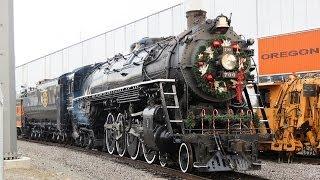 getlinkyoutube.com-Spokane Portland and Seattle 700 Big Steam Locomotive!