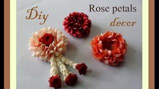 getlinkyoutube.com-Do it yourself Rose petals decor