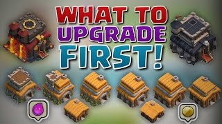 getlinkyoutube.com-What To Upgrade FIRST At A New Town Hall Level! | Clash of Clans