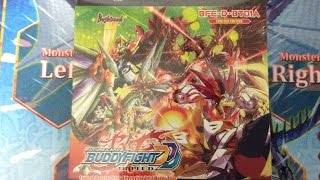 [Opening] Future Card Buddyfight D-BT01A Buddy Rave Product Opening