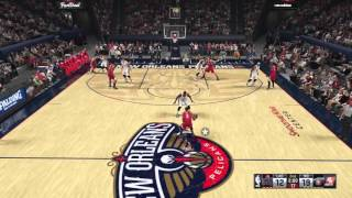 NBA 2K16 Tips How To Throw Alley Oop Off Manual Cut & How 2 User Cut Pt. 2