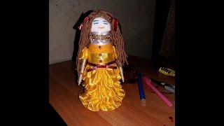 getlinkyoutube.com-Making a Doll with Bottle.