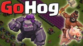 GoHog - 3 Sterne Angriffsstrategie || Clash of Clans [Deutsch/German HD+]