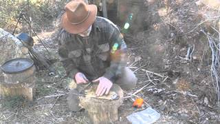 getlinkyoutube.com-Modern Trapping Series Part 34 Tanning and Breaking the Hide