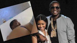 getlinkyoutube.com-Nicki Minaj Twerks On Meek Mill!