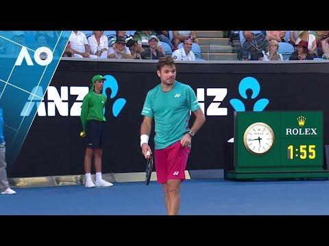 FUNNY. Wawrinka corrects confused Federer fan | Australian Open 2017
