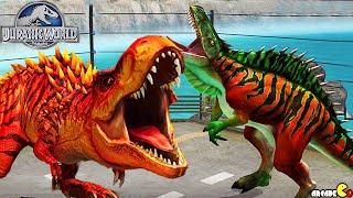 getlinkyoutube.com-HYBIRD KOOLASAURUS LIVE ARENA CHALLENGE - Jurassic World The Game!