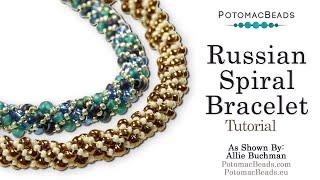 getlinkyoutube.com-Make a Russian Spiral (Bracelet or Necklace)