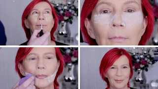 getlinkyoutube.com-OVER 40? DOESN'T MEAN YOU CAN'T WEAR SH!T LOADS OF MAKEUP!