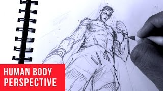 How To Draw Characters in Perspective: Ant's Eye View