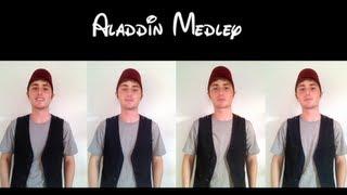 Aladdin Medley    One Man A Cappella Quartet