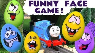 Thomas and Friends Toy Trains funny Prank Play Doh Stop Motion Fun Kids Guessing Game ToyTrains4u
