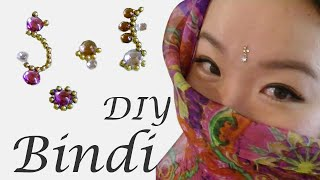getlinkyoutube.com-DIY Bindi Jewelry in 5 minutes! inspired by the Tribal Way
