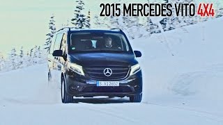 getlinkyoutube.com-► 2015 Mercedes Vito 4x4 on Snow