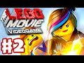 The LEGO Movie Videogame - Gameplay Walkthrough Part 2 - Wildstyle Rescues Emmet (PC, Xbox One, PS4)