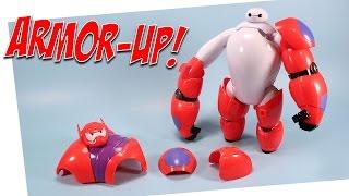 getlinkyoutube.com-Big Hero 6 Armor-Up Baymax Toy Opening BanDai