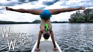 getlinkyoutube.com-Gymnastics on a Paddle Board | Whitney Bjerken