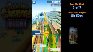 getlinkyoutube.com-Subway Surfers high score 51,182,650 (Better than hackers!)