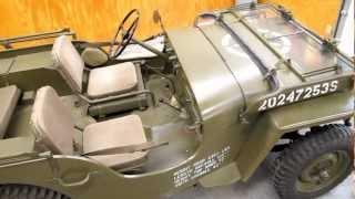 getlinkyoutube.com-1943 Willy's MB Jeep - Walk Around