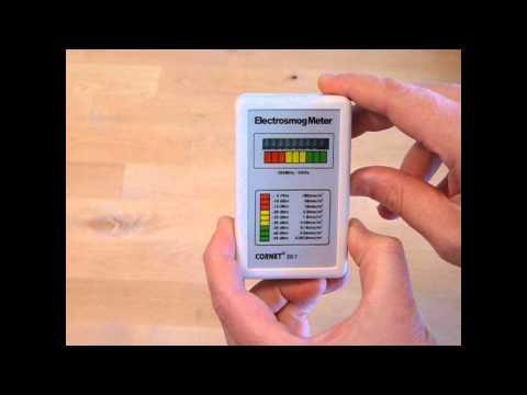 CORNET ED7 RF EMF/EMR meter