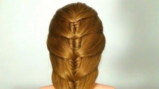 getlinkyoutube.com-Легкая прическа на каждый день. Easy hairstyle for every day