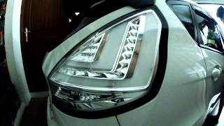 getlinkyoutube.com-Ford Fiesta mk7 - Tail - Brake - Stop Lamp LED - New Design