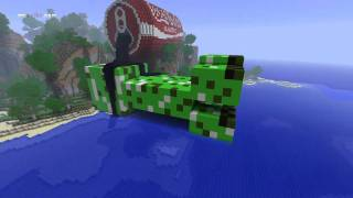 getlinkyoutube.com-Minecraft Creeper Drinking Coke [HD timelapse]