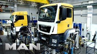 getlinkyoutube.com-MAN truck production - Munich