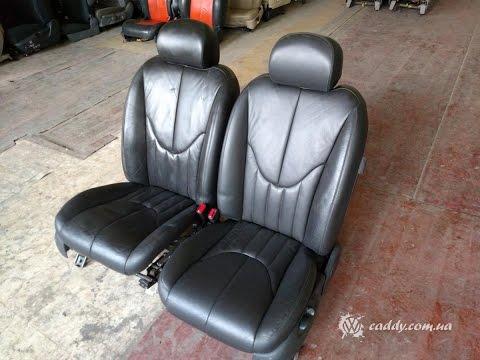 JST-3 Jaguar S-type - передние кожаные сиденья