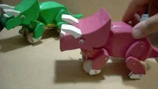 getlinkyoutube.com-Wood Dinosaur Toys.wmv