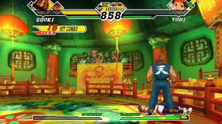 getlinkyoutube.com-Capcom Vs  SNK 2 HD Full Run PSN XBLA Style