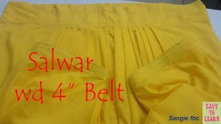 getlinkyoutube.com-salwars cutting and stitching in hindi step by Step/Easy to Learn/sangie fbc