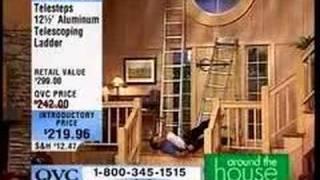 getlinkyoutube.com-QVC Ladder Fall Blooper