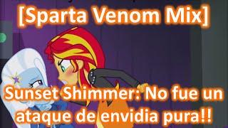 getlinkyoutube.com-[Sparta Venom Mix] Sunset Shimmer: No fue un ataque de envidia pura!!