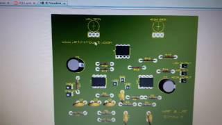 NE5532 HIGH and LOW Pass Filter elcircuit
