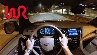 getlinkyoutube.com-2017 Cadillac Escalade 4WD Platinum - WR TV POV Night Drive