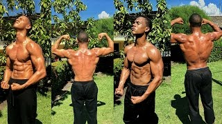 getlinkyoutube.com-1 Year Incredible Body Transformation! (Calisthenics) - Bar Brothers DR (Street Workout Motivation)