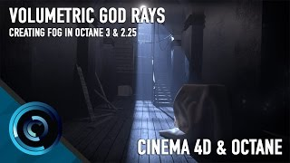 getlinkyoutube.com-Volumetric Lighting in Octane 3 and Cinema 4D