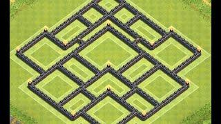 getlinkyoutube.com-Clash of Clans Amazing TH10 Farming Base