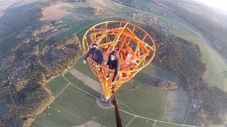 getlinkyoutube.com-Climbing a 363m Radio Tower in Donebach Germany-GYK