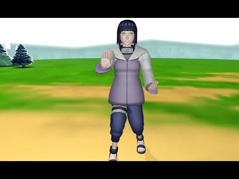 [MMD] Hinata vs Pain - Hinata saves to Naruto
